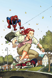 Spider-Man Loves Mary Jane Season 2 No.3 Cover Posters by Terry Moore