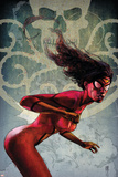 Spider-Woman No.2 Cover: Spider Woman Poster by Alex Maleev