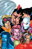 Exiles No.1 Cover: Blink, Morph, Thunderbird, Mimic, Magnus and Nocturne PosterMike McKone