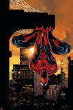 Cover van Amazing Spider-Man Family No.2: Spider-Man op de kop hangend Affiches van Mike Deodato