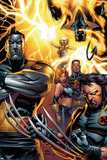 Ultimate X-Men No.50 Cover: Colossus, Wolverine, Nightcrawler, Grey, Jean, Cyclops, Storm and X-Men Photo by Andy Kubert