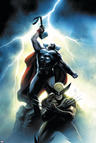 Wolverine First Class No. 15 Cover: Wolverine and Thor Affiche par Dennis Calero