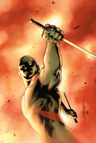 Drax The Destroyer No.3 Cover: Drax The Destroyer Fighting Stampe di Mitchell Breitweiser