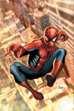 The Amazing Spider-Man No.549 Cover: Spider-Man Prints by Salvador Larroca