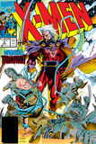 X-Men No.2 Cover: Magneto and Professor X Foto di Jim Lee
