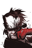 The Amazing Spider-Man No.576 Cover: Hammerhead Poster di Chris Bachalo