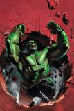 Ultimate Origins No.4 Cover: Hulk Affiche par Gabriele DellOtto