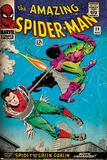 Marvel Comics Retro: The Amazing Spider-Man Comic Book Cover No.39, Green Goblin (aged) Poster