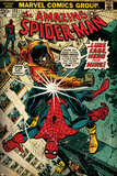 Marvel Comics Retro: The Amazing Spider-Man Comic Book Cover No.123, Luke Cage - Hero for Hire Posters