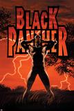 Black Panther No.6 Cover: Black Panther Poster av John Romita Jr.