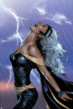 Uncanny X-Men No.449 Cover: Storm Swinging Posters af Greg Land