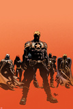Secret Avengers No.12.1 Cover: Steve Rogers, Moon Knight, Black Widow, War Machine, and Valkyrie Stampe di Mike Deodato