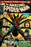 Marvel Comics Retro: The Amazing Spider-Man Comic Book Cover No.135, Return of the Punisher! (aged) Print