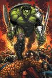 World War Hulk Prologue: World Breaker Cover: Hulk Posters av John Romita Jr.