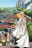 X-Men: Manifest Destiny No.2 Cover: Emma Frost Plakater av Humberto Ramos