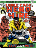 Marvel Comics Retro: Luke Cage, Hero for Hire Comic Book Cover No.15, in Chains Stampe