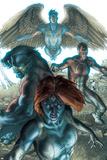 Dark X-Men No.1 Cover: Mystique, Dark Beast and Omega Prints by Simone Bianchi