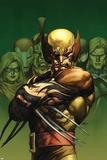 Dark Wolverine No.75 Cover: Wolverine Poster av Leinil Francis Yu