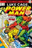 Marvel Comics Retro: Luke Cage, Power Man Comic Book Cover No.29, Fighting Mr. Fish Foto