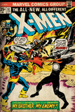 Marvel Comics Retro: The X-Men Comic Book Cover No.97, Havok, My Brother-My Enemy! (aged) Poster
