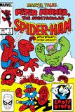 Marvel Tails: Spider-Ham No.1 Cover: Spider-Ham, Captain Americat and Hulkbunny Flying Poster tekijänä Mark Armstrong