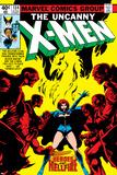 Uncanny X-Men No.134 Cover: Grey Posters av John Byrne