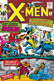 X-Men No.9 Cover: Lucifer Prints by Jack Kirby