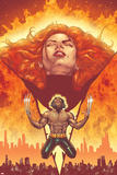 New X-Men No.150 Cover: Phoenix and Wolverine Lámina por Phil Jimenez
