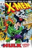 X-Men No.66 Cover: Hulk, Beast, Iceman and Angel Photo by Sal Buscema