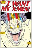 X-Men Super-Sized Annual No.12 Headshot: Mojo Fotografia por Arthur Adams