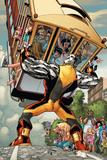 X-Men: Manifest Destiny No.3 Cover: Colossus Plakater av Humberto Ramos