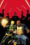 Daredevil No.509 Cover:  Iron Fist, Luke Cage, and Daredevil Posing Plakat av John Cassaday