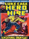 Marvel Comics Retro: Luke Cage, Hero for Hire Comic Book Cover No.1, Origin Stampe
