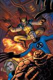 Wolverine No.22 Cover: Wolverine Fotografía por John Romita Jr.