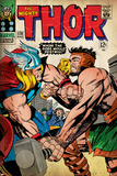 Marvel Comics Retro: The Mighty Thor Comic Book Cover No.126, Hercules (aged) Poster