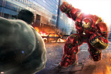 The Avengers: Age of Ultron - Hulk Faces Hulkbuster Posters