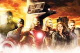 Thor, Hulk, Captain America, Hawkeye, Black Widow, and Iron Man from The Avengers: Age of Ultron Posters
