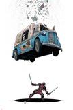 Deadpool 8 Cover: Deadpool Pôsteres por Arthur Adams