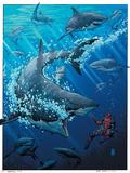 Deadpool 9 Cover: Deadpool Posters av Arthur Adams