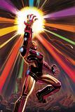 Avengers No.12 Cover: Iron Man Prints by John Romita Jr.