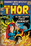 Marvel Comics Retro: The Mighty Thor Comic Book Cover No.120, Journey into Mystery (aged) Poster