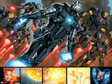Iron Man 20 Figure: War Machine, Iron Man Prints by Joe Bennett