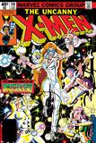 Uncanny X-Men No.130 Cover: Dazzler, Cyclops, Grey and Jean Poster av John Romita Jr.