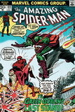 Marvel Comics Retro: The Amazing Spider-Man Comic Book Cover No.122, the Green Goblin's Last Stand! Poster