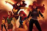 X-Men Evolutions No.1: Jean Gray Stampe di Paul Renaud
