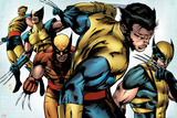 X-Men Evolutions No.1: Wolverine Plakater av Patrick Zircher
