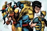 X-Men Evolutions No.1: Wolverine Print by Patrick Zircher