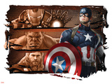 The Avengers: Age of Ultron - Captain America, Iron Man, Hulk, & Thor Photo