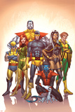 Uncanny X-Men: First Class No.1 Cover: Cyclops Plakater av Roger Cruz