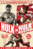 The Avengers: Age of Ultron - Hulk and Hulkbuster Battle Poster Plakater
